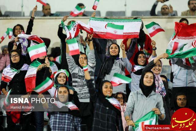 www.dustaan.com ریشه اعتقاد مردم را نفاق و دروغ می سوزاند نه حضور بانوان در ورزشگاه