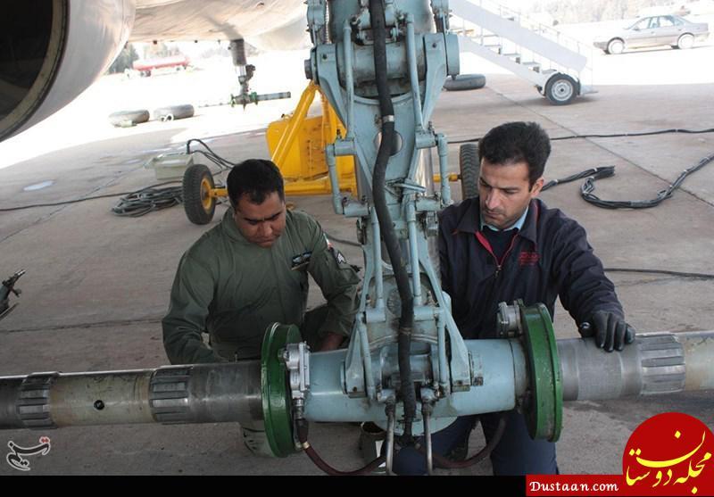 www.dustaan.com تجهیز هواپیما های نظامی به لاستیک های ایرانی +عکس