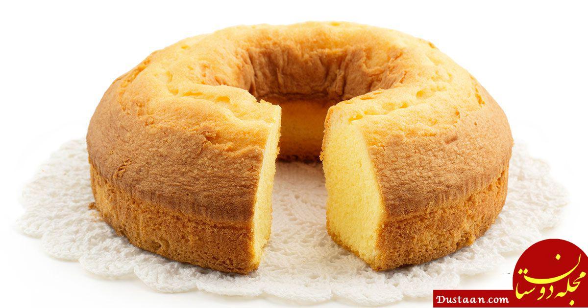 www.dustaan.com طرز تهیه کیک ماست و لیمو به سبکی خوشمزه