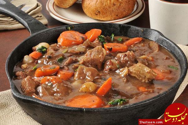 www.dustaan.com طرز تهیه خورش هویج به سبکی خوشمزه