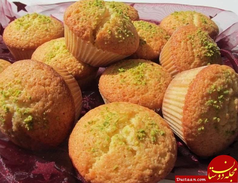 www.dustaan.com طرز تهیه کیک یزدی به سبکی خوشمزه