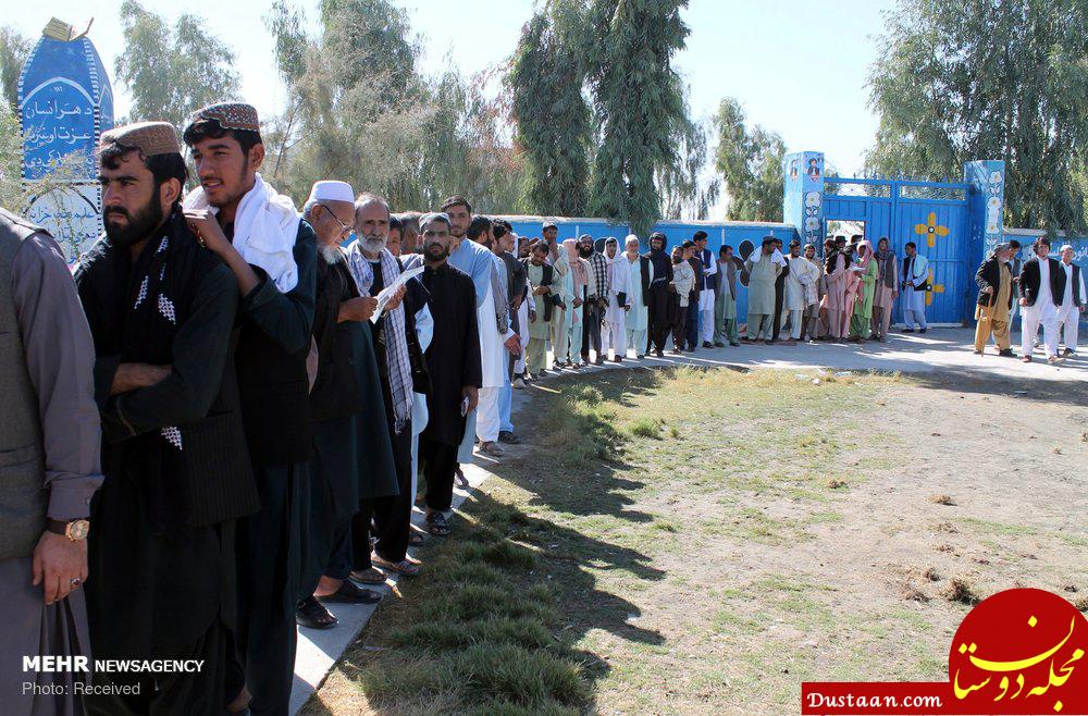 www.dustaan.com عکس هایی دیدنی از انتخابات پارلمانی در افغانستان