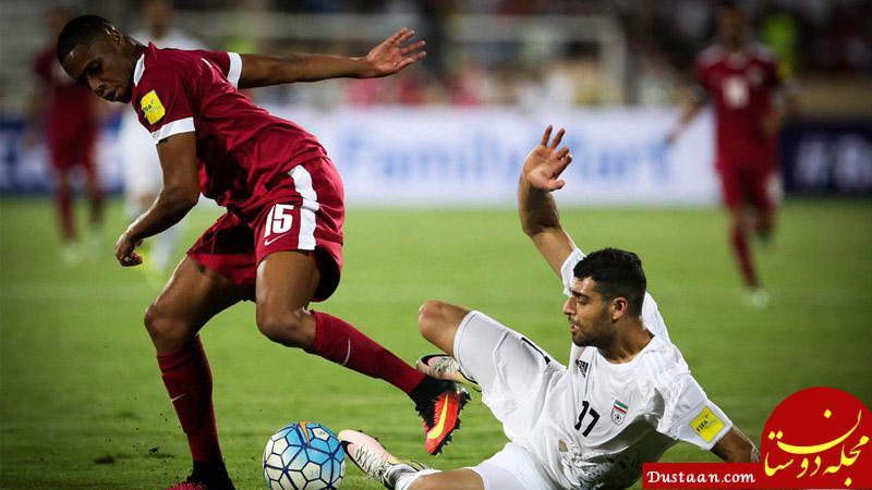 www.dustaan.com دیدار دوستانه ایران با قطر 10 دی برگزار می شود؟