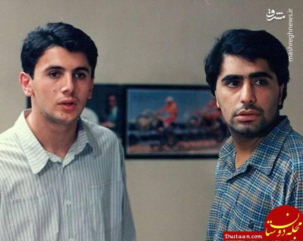 www.dustaan.com چهره دیدنی امین حیایی و رضا شفیعی جم؛ 27 سال پیش! +عکس