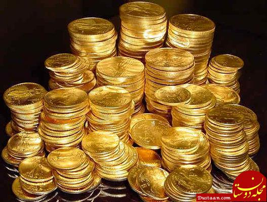 www.dustaan.com کشف 24500 سکه طلا از کولر یک خانه در تهران!