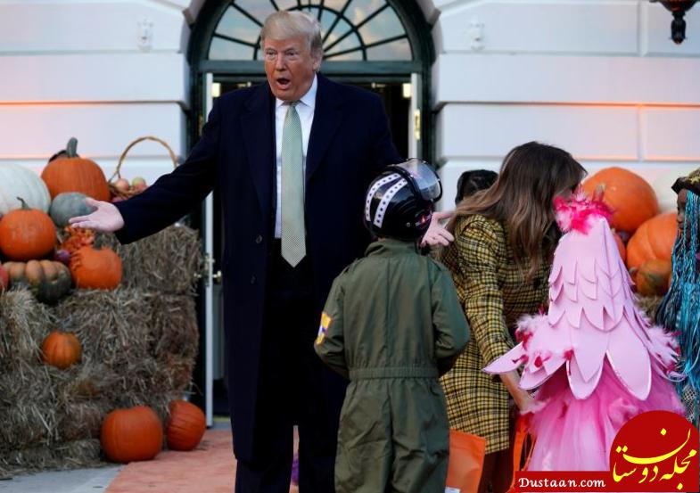 وقتی رئیس جمهور آمریکا با مار بچه ها را می ترساند! +عکس