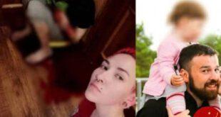 زن روس با چاقو شوهر سابقش را زخمی و سلفی گرفت! +عکس