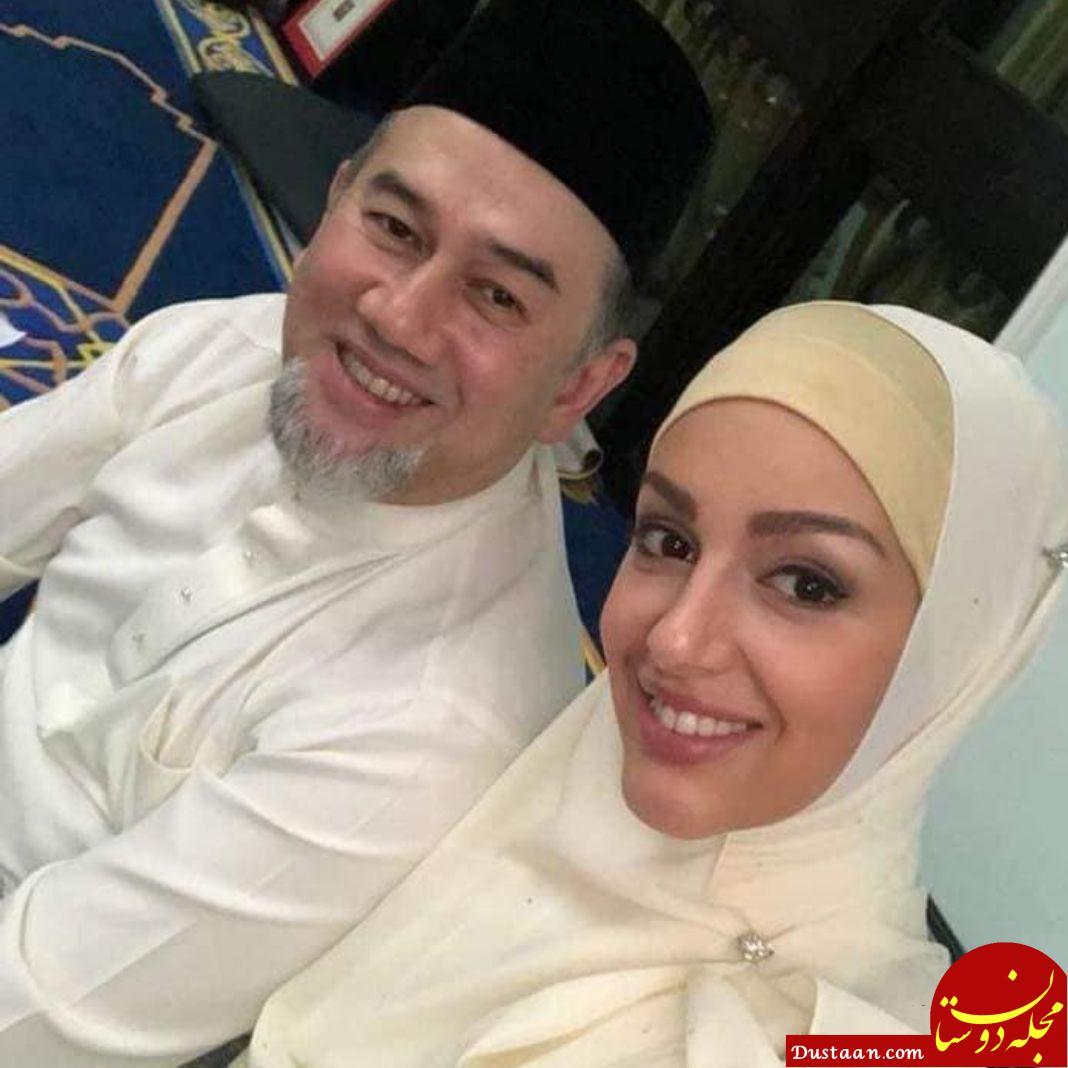 www.dustaan.com ملکه زیبایی روس مسلمان شد و با پادشاه مالزی ازدواج کرد +عکس