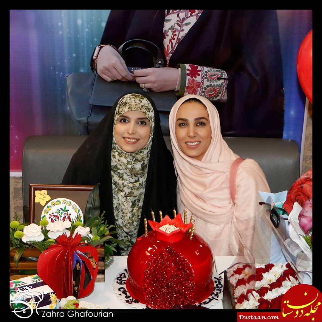 www.dustaan.com سوگل طهماسبی جشن تولد مژده لواسانی +عکس