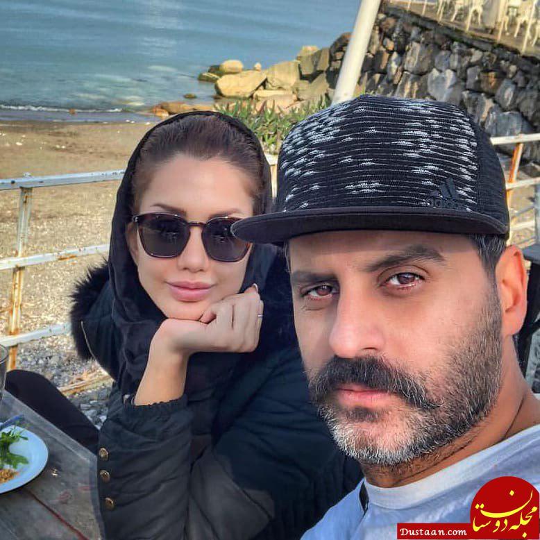 www.dustaan.com علیرام نورایی و همسرش صبا تاجیک
