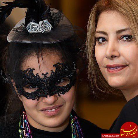 www.dustaan.com لادن طباطبایی و دخترش سها در آمریکا +عکس