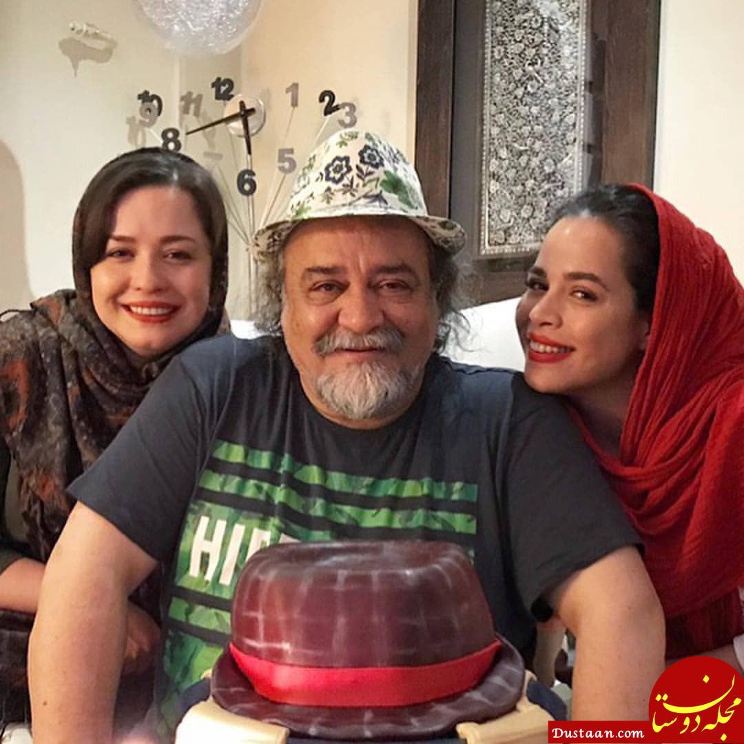 محمدرضا شریفی نیا و دخترانش، مهراوه و ملیکا در یک قاب!