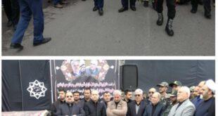 آغاز مراسم تشییع پیکر نوربخش و تاج الدین در گرگان