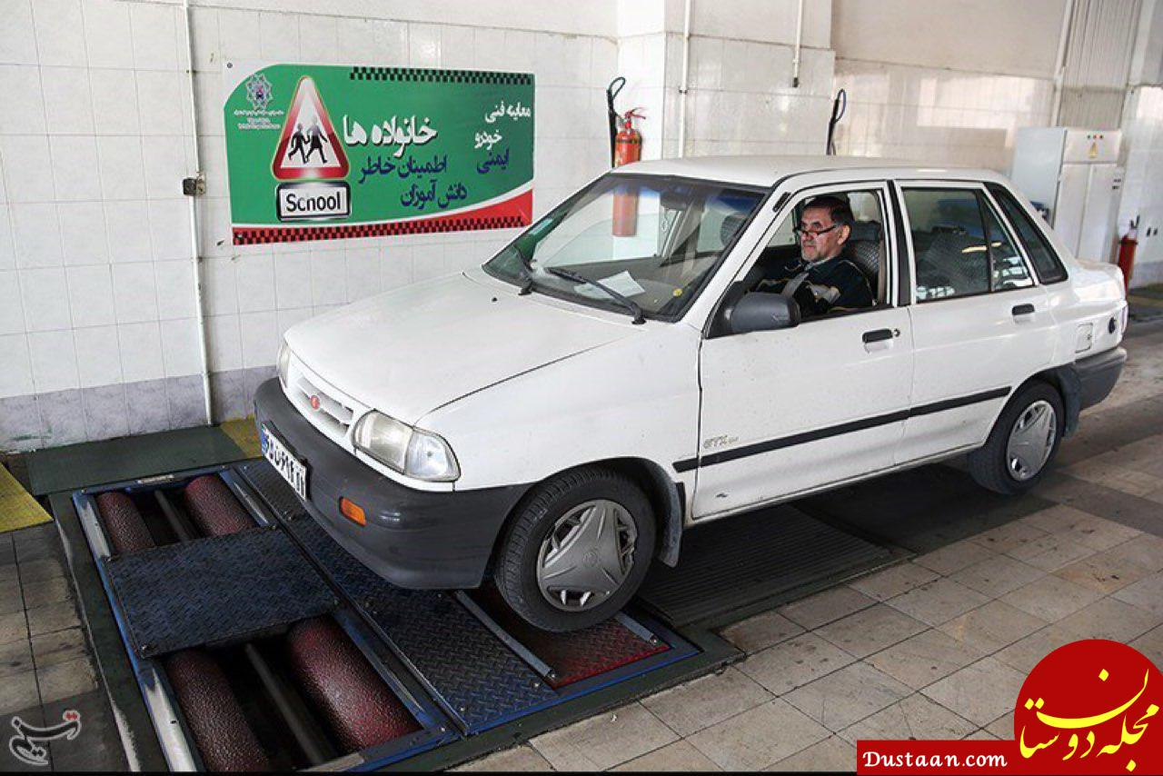 www.dustaan.com مهلت یک هفته ای پلیس به رانندگان برای دریافت معاینه فنی معتبر