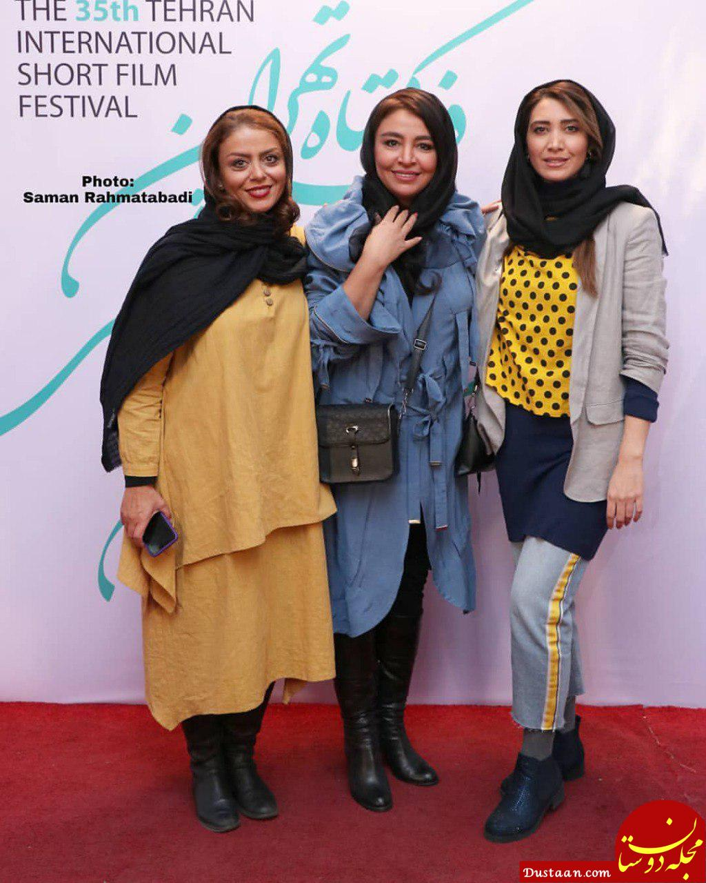 www.dustaan.com تیپ متفاوت نیکی مظفری در جشنواره فیلم کوتاه تهران