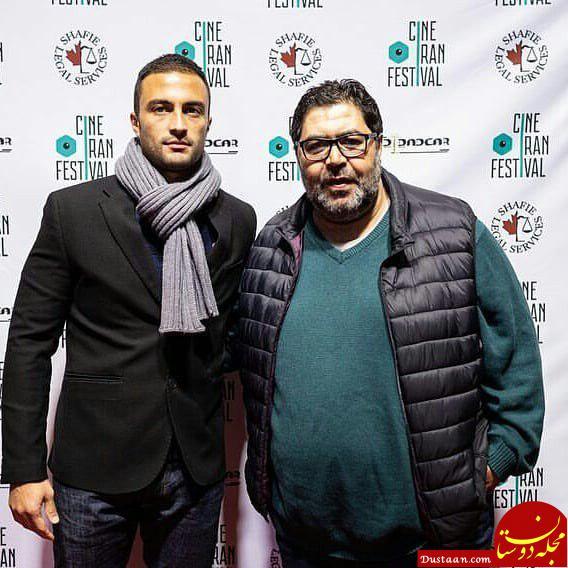 www.dustaan.com بازیگران در افتتاحیه جشنواره سینه ایران 2018 در تورنتو +تصاویر