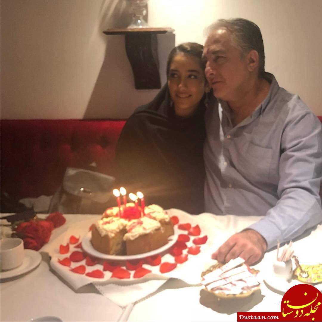www.dustaan.com ایرج نوذری در جشن تولد دخترش +عکس