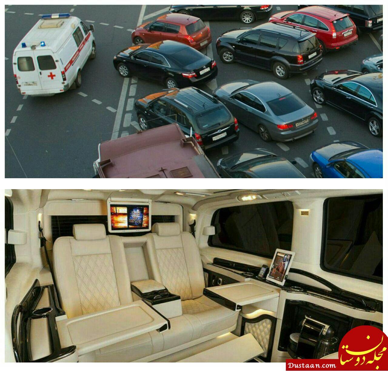 www.dustaan.com راهکار ثروتمندان روس برای فرار از ترافیک! +عکس