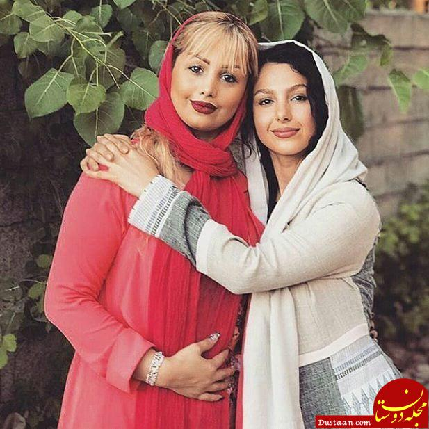 عاطفه سریال حوالی پاییز در کنار خواهر واقعی اش! +عکس