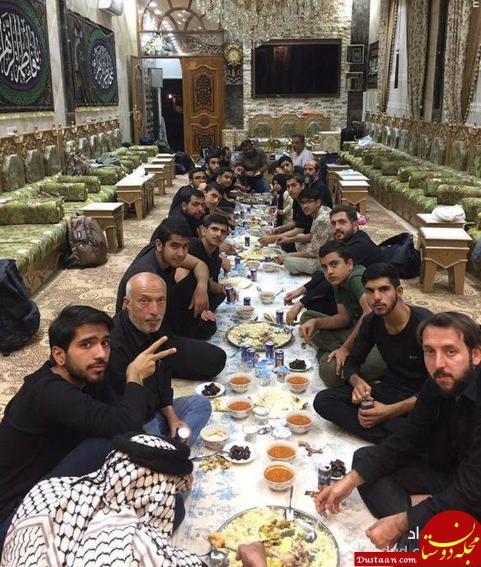 www.dustaan.com میلیاردر عراقی که با خودروی لوکس جلوی زائران ایرانی ایستاد ! + عکس