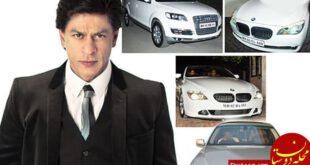 بازیگری که گران قیمت ترین خودروهای جهان را سوار می شود +عکس