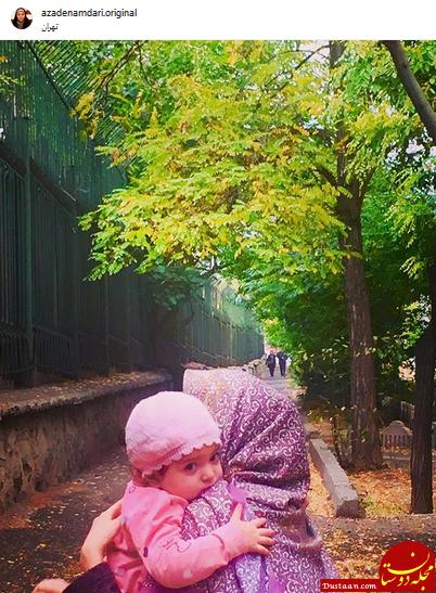 www.dustaan.com «آزاده نامداری» بدون چادر در خیابان های تهران! +عکس
