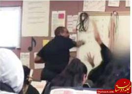 www.dustaan.com معلم عصبانی به خاطر کتک زدن دانش آموز دستگیر شد +عکس