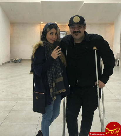 www.dustaan.com مهران غفوریان بعد از عمل جراحی +عکس