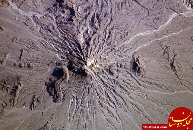 www.dustaan.com ثبت بی سابقه دمای 7 درجه در قله دماوند!