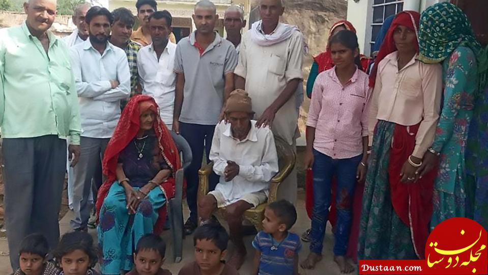 www.dustaan.com مرد 95 ساله ای که در مراسم خاکسپاری زنده شد! +تصاویر