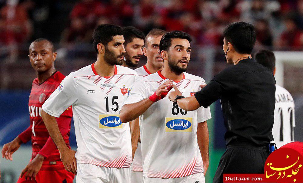 www.dustaan.com 5 بازیکن استقلال و پرسپولیس در صدر بازیکنان خشن آسیا