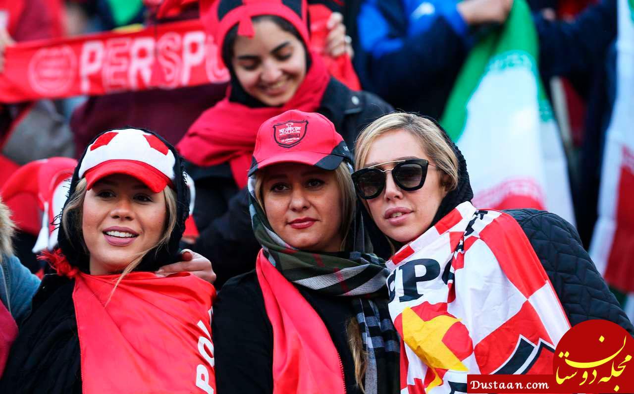 www.dustaan.com ناگفته های دختر محمود خوردبین از حضورش در استادیوم +عکس
