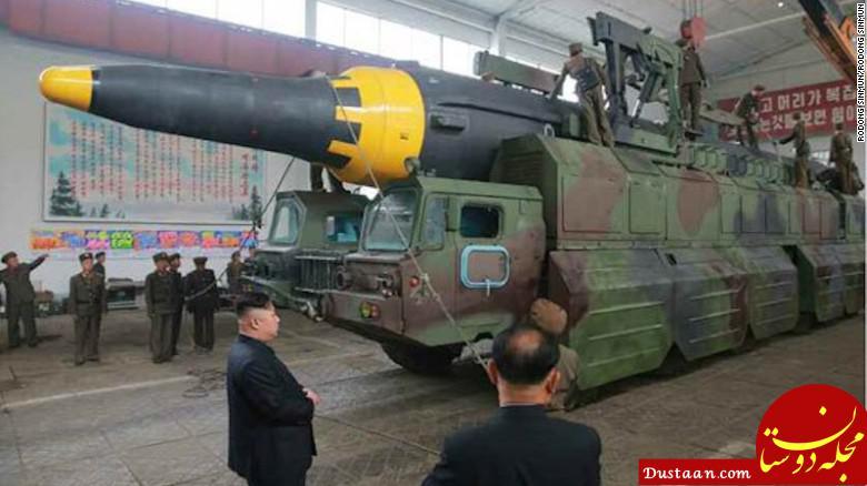 www.dustaan.com کره شمالی سایت های مخفی موشکی دارد
