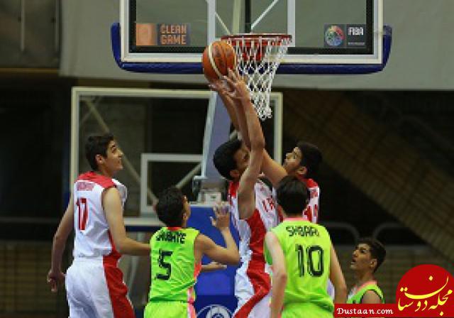 www.dustaan.com ملی پوشان نوجوان بسکتبال بلیط کیش بخرند و به اردو بروند!