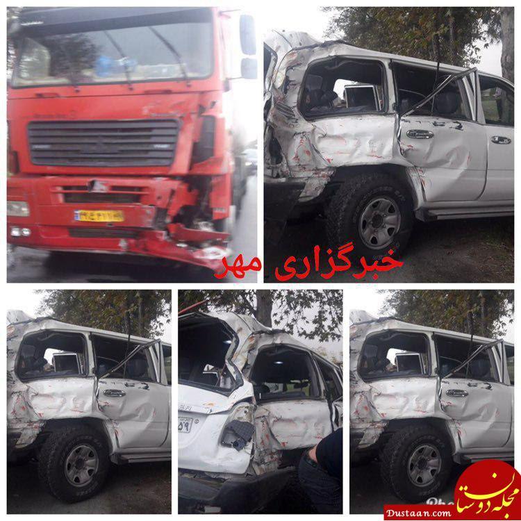 www.dustaan.com درگذشت «نوربخش» و «تاجالدین» در حادثه تصادف رانندگی +تصاویر