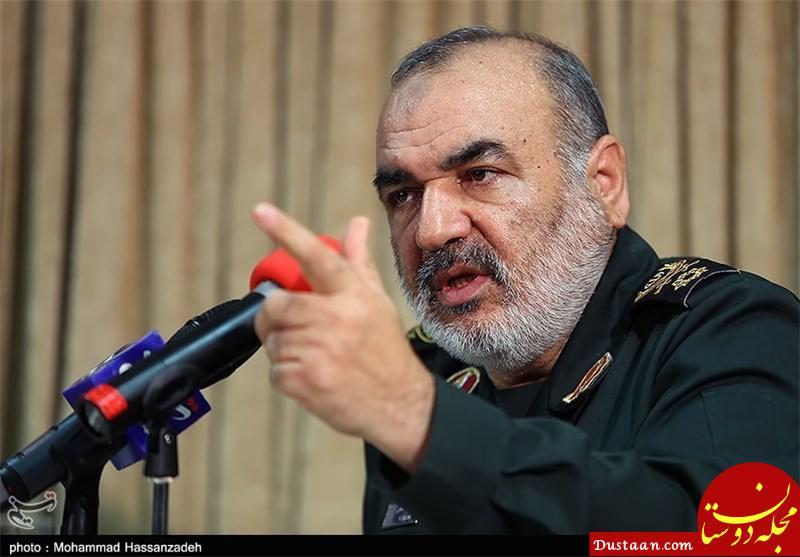 www.dustaan.com سردار سلامی : دورریز غذای ایرانی ها 40 میلیون آمریکایی را سیر می کند