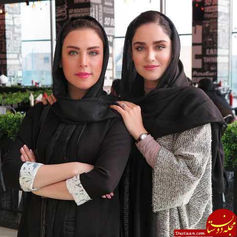www.dustaan.com جلب توجه چهره بسیار جوان مادر هانیه غلامی بازیگر سینما! +عکس