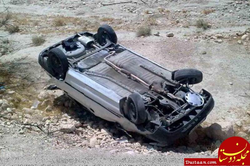 www.dustaan.com 5 کشته و زخمی بر اثر واژگونی خودرو در بزرگراه شهید همت