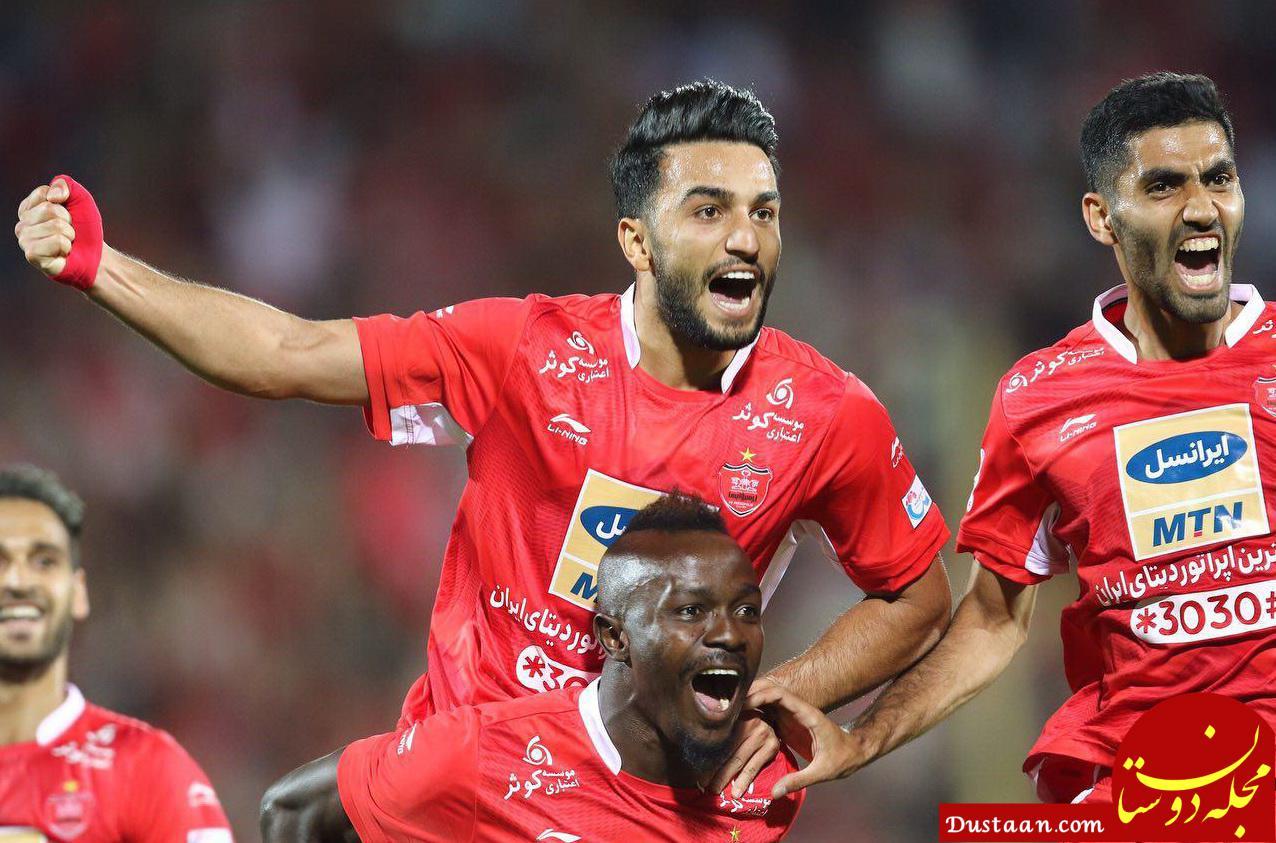 www.dustaan.com بازیکن پرسپولیس: مقابل پیکان به سختی 11 نفر می شویم!