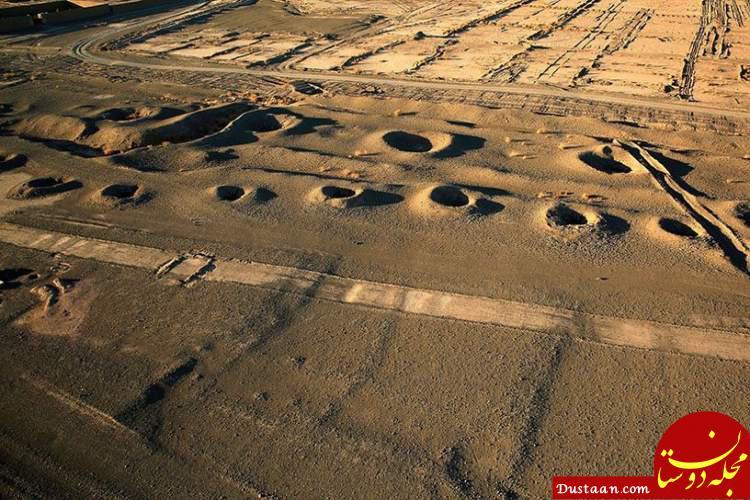 www.dustaan.com قنات 3 هزار ساله در یزد