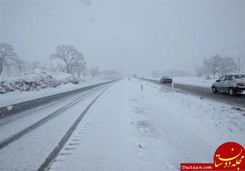 www.dustaan.com برف و کولاک و سیل و آبگرفتگی در 9 استان