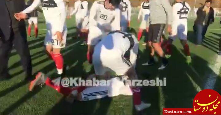 www.dustaan.com کتک خوردن وریا از طارمی و سردار آزمون! +عکس