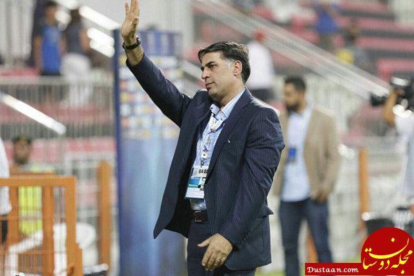 www.dustaan.com آذری مدیرعامل باشگاه ذوب آهن: به منصوریان ایمان دارم