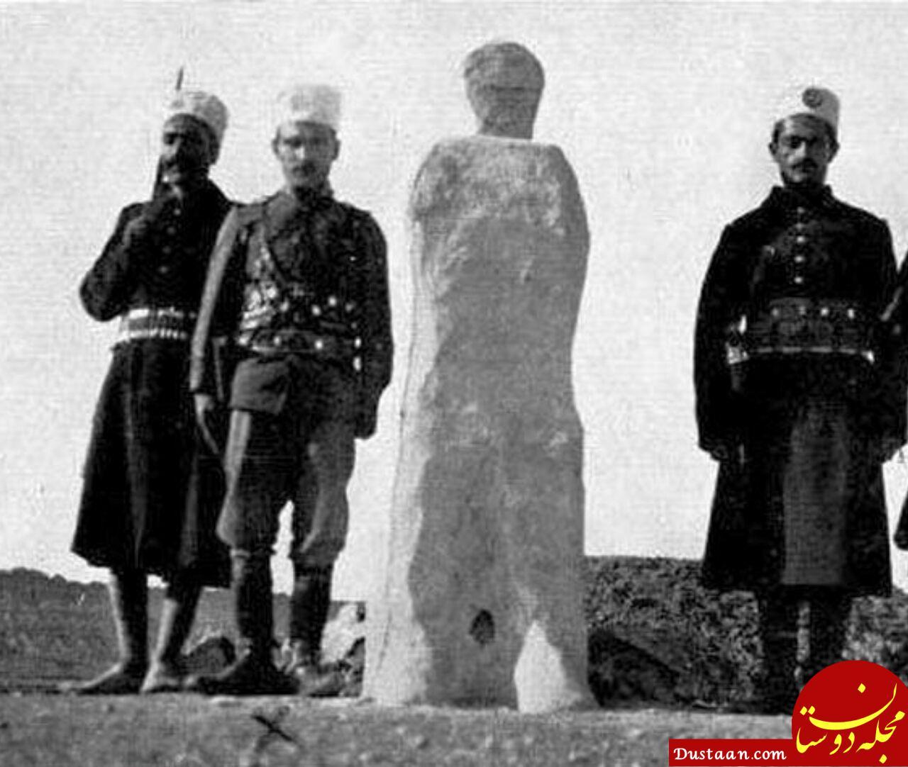 www.dustaan.com مجازات عجیب یک مجرم در عهد قاجار! +عکس