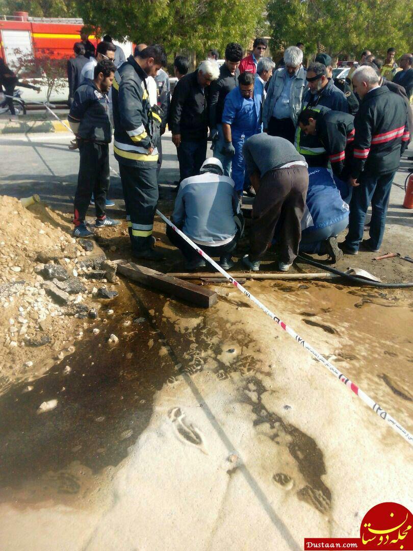 جزئیات سرقت از خط لوله سوخت در بوشهر/ متخلفان دستگیر شدند +عکس
