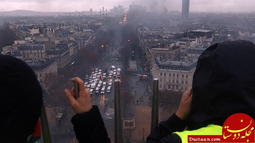www.dustaan.com خشونت در فرانسه! +عکس