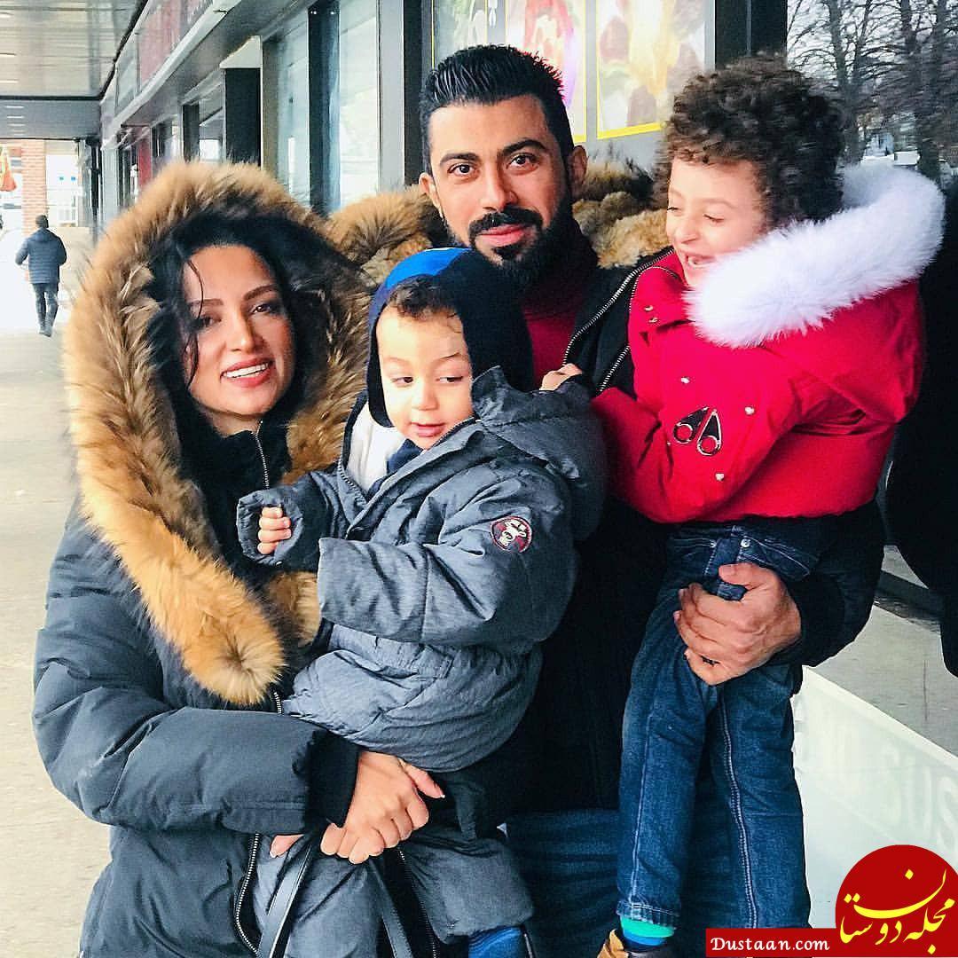 www.dustaan.com سلفی میلاد کیمرام با روناک یونسی و همسرش در کانادا