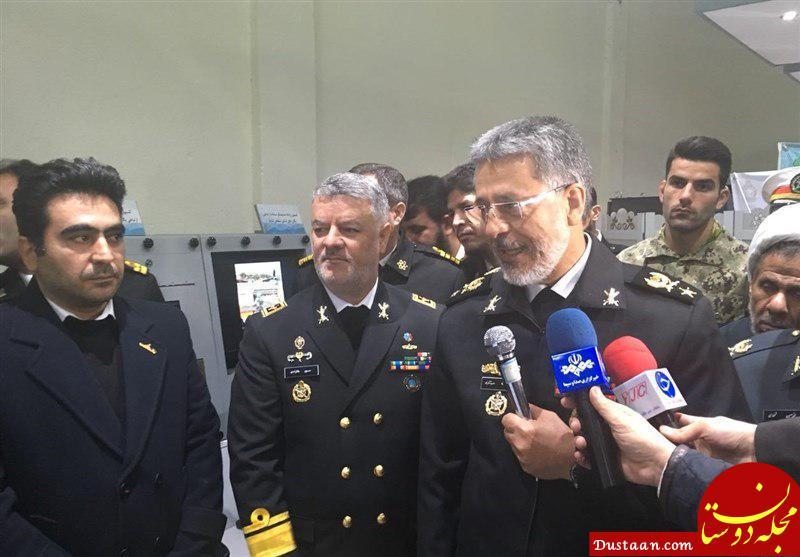 www.dustaan.com واکنش دریاردار سیاری به ورود ناو آمریکایی به خلیج فارس