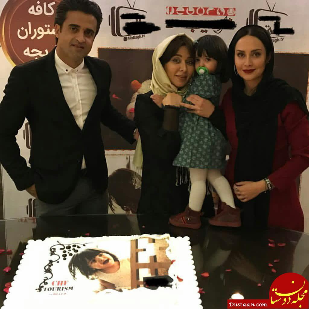 www.dustaan.com عکس های دیدنی فقیهه سلطانی در جشن تولد دخترش +تصاویر