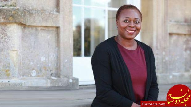 www.dustaan.com اولین زن سیاهپوست که توانست در بریتانیا پرفسور تاریخ شود! +عکس